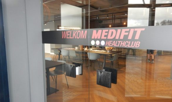 Renovatie en restyling Medifit Healthclub in Drunen